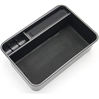 Salusy Car Center Console Armrest Box Glove Box Secondary Storage Tray For Nissan Rogue X-trial 2014 2015 2016 2017 2018
