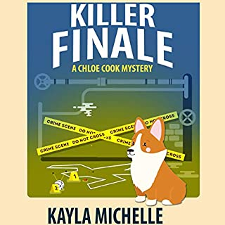 Killer Finale  audiobook cover art
