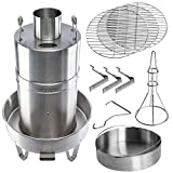 Orion Cooker Outdoor Convection Cooker Stainless Steel Barbecue Smoker Turkey Fryer