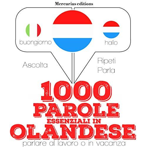 Couverture de 1000 parole essenziali in Olandese
