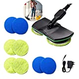YOUTH BURST Cordless Electric Spinning Mop,rechargeable Powered Laminate Floor Polisher,3 In 1 Cordless