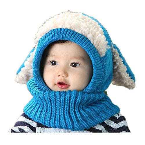 Pormow herfst en winter baby hoed kleine kinderen meisjes jongens breien warme woll muts
