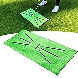 Alfombrilla De Entrenamiento De Golf Golf Training Mat para Detección de Swing Estera de Entrenamiento de Golf Bateo Práctica de Golf Alfombrilla de Bateo Mini Alfombra de Entrenamiento