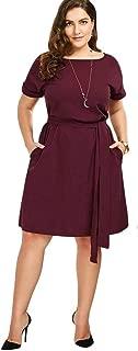 Vestidos Tallas Grandes Plus Size Women Ropa De Moda para Gorditas XL Mujer Sexys Casuales Largos De Fiesta Elegantes Rojos