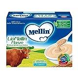 Mellin LioMellin Liofilizzati per Bambini, al Gusto Manzo - 3 Vasetti da 10 gr - Totale 30...