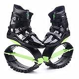 Saltar Zancos Zapatos De Salto Unisex, Zapatos De Salto De Canguro Multifuncionales Ajustables Fáciles De Limpiar, Zapatos De Rebote para Aliviar El Dolor De Rodilla(Size:70-90KG,Color:Green 42-44)