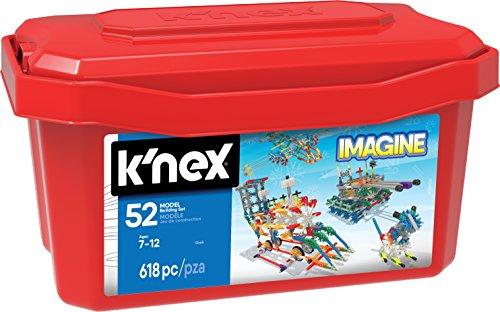 Knex - Juego de construcción para niños de 618 piezas (13466)