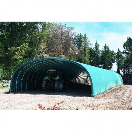 Atout Loisir Bâche Camion 640 microns - Vert Longueur : 9 m, Largeur : 12 m
