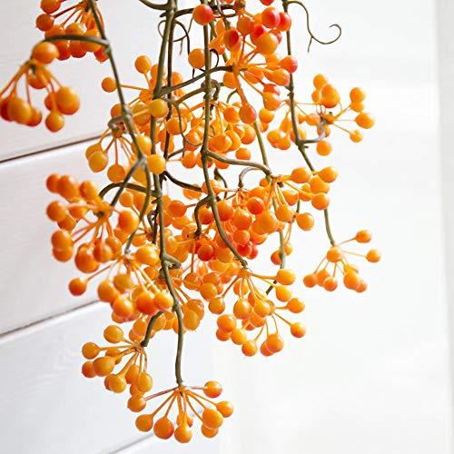 Slinger met bloemenkrans, decoratief, kunstzinnige, panacheslinger met rode bonen voor huis, emulatief, voor bruiloft Oranje
