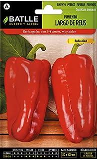 Batlle Gemüsesamen - Grosse Paprika Reus 150 Samen