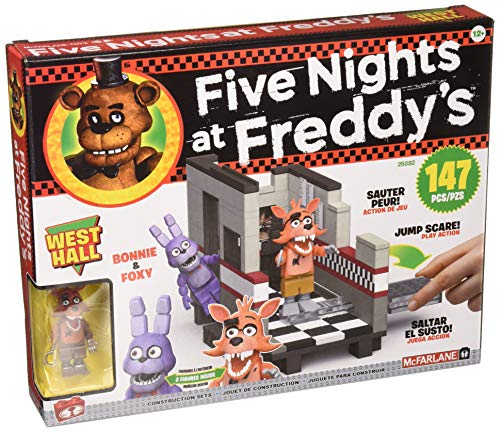 McFarlane Five Nights at Freddy´s Medium Construction Set West Hall Toys BAUS