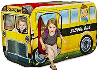 Playhut 2-in-1 Interchangeable School Bus and Fire Engine