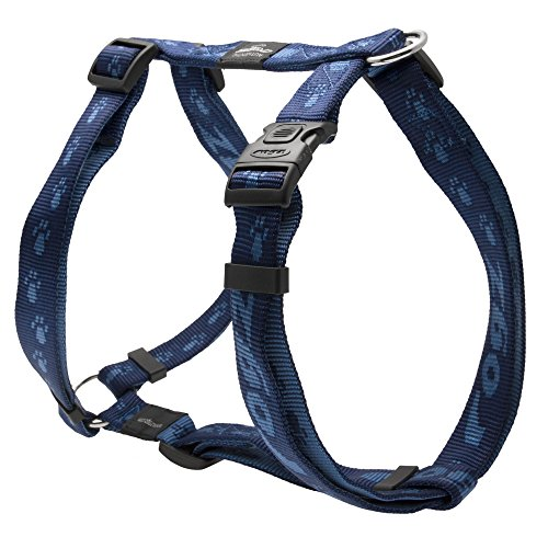 Rogz Alpinist Hunde H-Brustgeschirr (L) (Blau)