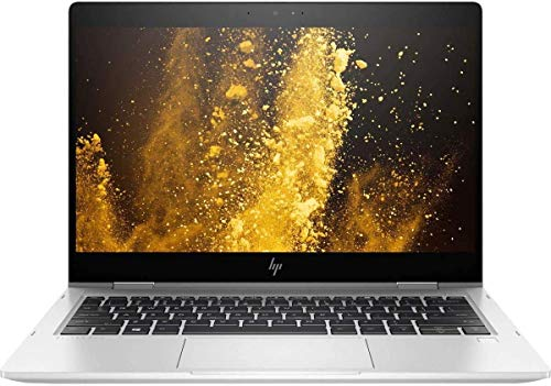 HP EliteBook x360 830 G6 13.3' FHD IPS Touchscreen i5 8265U up to 3.9 GHz, 16GB DDR4 RAM, 1TB NVMe SSD, Dual Band Wireless-AC 9560, Windows 10 Pro - UK Keyboard Layout (Renewed)