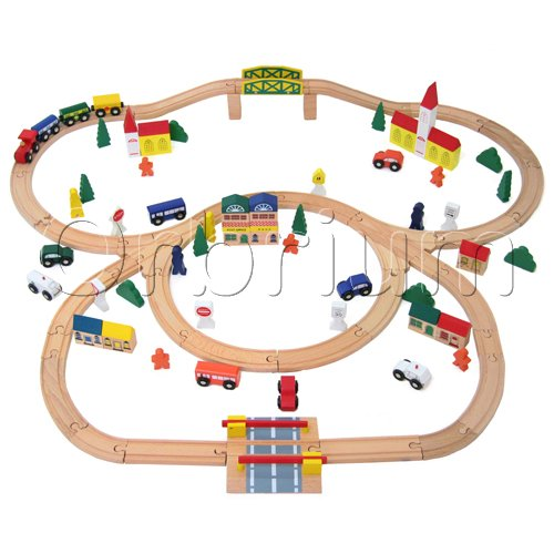Toy Train Set Tracks