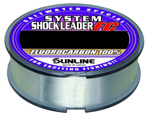 サンライン(SUNLINE) ショックリーダー ソルトウォータースペシャル システム フロロカーボン 50m 10号 35lb
