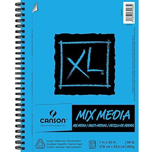 Canson XL multimedio Carta Pad 7