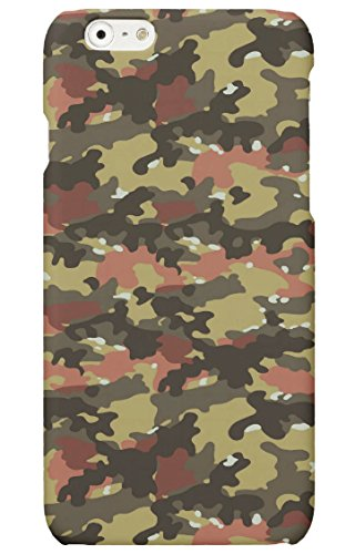 Protector Cristal Templado + Carcasa Camuflaje Militar Camo Caza para Samsung Galaxy S7 plástico rígido