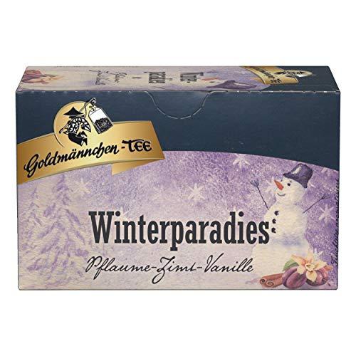 Goldmännchen Wintertee Winterparadies, Früchtetee, 20 einzeln versiegelte Teebeutel