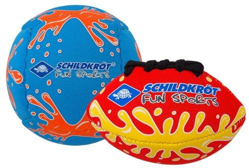 Schildkröt Funsports Mini Ball Duo 1 Volley 1 Football, Rot, 1