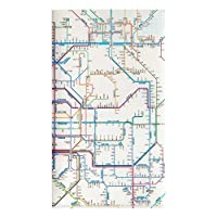 東京カートグラフィック 鉄道路線図 チケットホルダー 関西日本語 × 5 セット RTHKJ