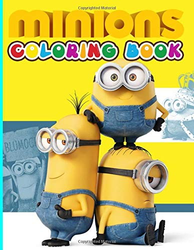 Minion Coloring Book: Minion Wonderful Adults Coloring Books True Gifts For Family