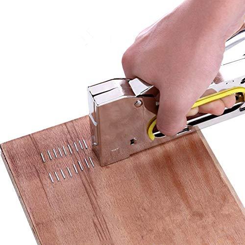 Grapadora rápida, para trabajo pesado pistola de grapas, Para la fijación de tejidos para tapicería,clavo de acero kit del arma, tapicería de la grapadora, decoración, carpintería, muebles
