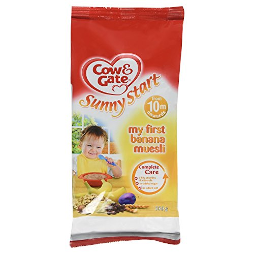 Cow & Gate Sunny Start My First Banana Muesli From 10 Month 330g