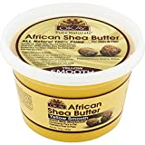 Okay Pure Naturals Shea Butter Yellow Smooth, 16 oz (Pack of 2)