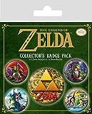 The Legend of Zelda BP80644 Aufkleber, Mehrfarbig, 10 x 12.5 cm