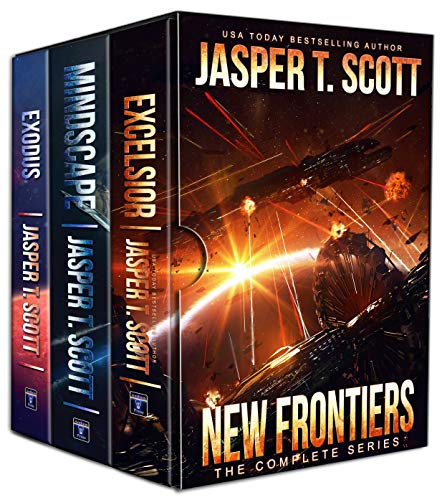New Frontiers: The Complete Series (Books 1-3) by [Jasper T. Scott, Tom Edwards, Aaron Sikes]