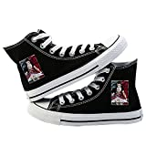 Demon Slayer Cosplay Canvas Schuhe Sneaker High Top Low Top Schnürer 3D Druck Flache Weiche...