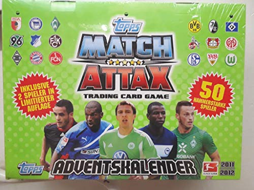 Topps TO90351 - Match Attax Adventskalender 2011