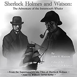 Sherlock Holmes: The Adventure of the Innsmouth Whaler audiobook cover art