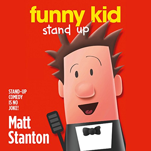 Funny Kid Stand Up audiobook cover art