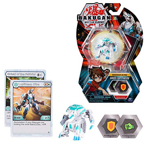 BAKUGAN Ultra Ball Selección Spinmaster | Battle Brawlers Playsets, Bakugan:Haos Lupitheon