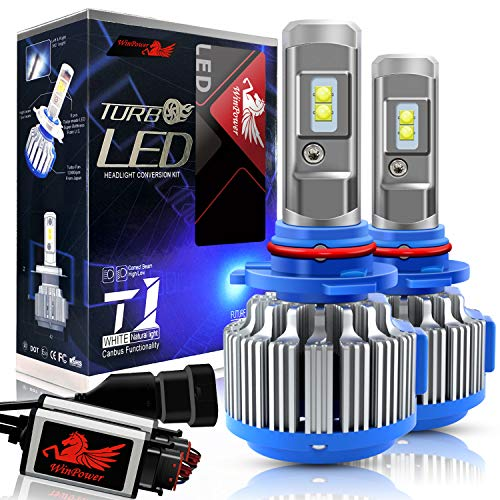 WinPower - HB3(9005) - Kits de conversión de bombillas para faros LED CREE con Canbus - 70W 7200Lm 6000K xenón blanco - 2 Piezas
