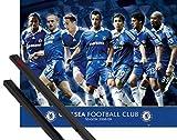 1art1 Fußball Mini-Poster (50x40 cm) Chelsea, Spieler