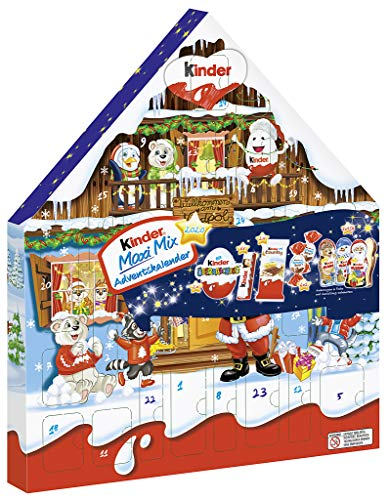 Kinder Maxi Mix Calendario dell'Avvento 351g