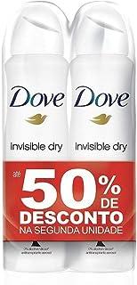Kit Desodorante Aerosol Dove Invisible 89g 50% Off Na 2ª Unidade