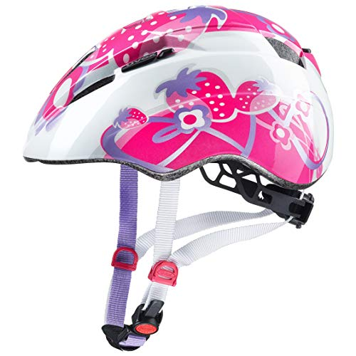 Uvex Unisex Jugend, kid 2 Fahrradhelm, pink strawberry, 46-52 cm