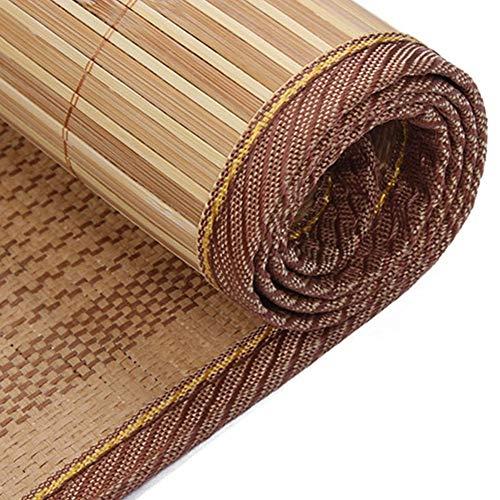 Estera de bambú Colchón Fresco, colchoneta de Paja de Ropa de Cama Mats para Dormir de Verano Cama de Cama Individual Habitación de Dormitorio para Estudiantes Multifunción