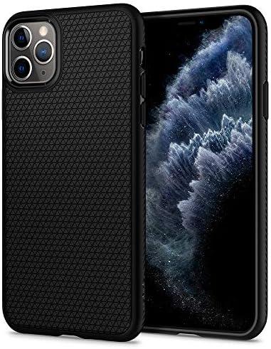 Spigen Liquid Air Armor Designed for iPhone 11 Pro Case (2019) – Matte Black