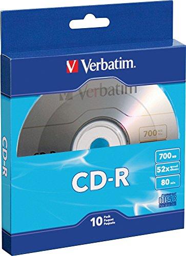 VERBATIM Corporation 97955 10PK CD-R 52X 700MB Bulk