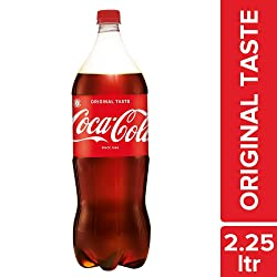 Coca-Cola Soda Soft Drink, 2.25 ltr Bottle