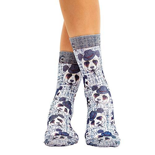 Wigglesteps Damen Socken Gentle Bear, one Size, 36-40