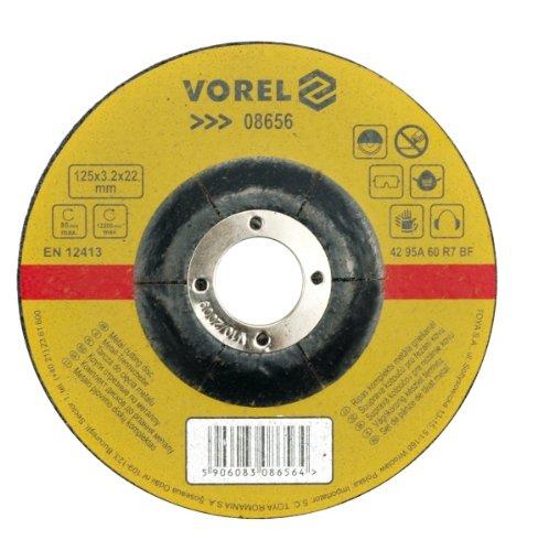 VOREL 08640 - de metal 230x3.2x22mm disco de corte