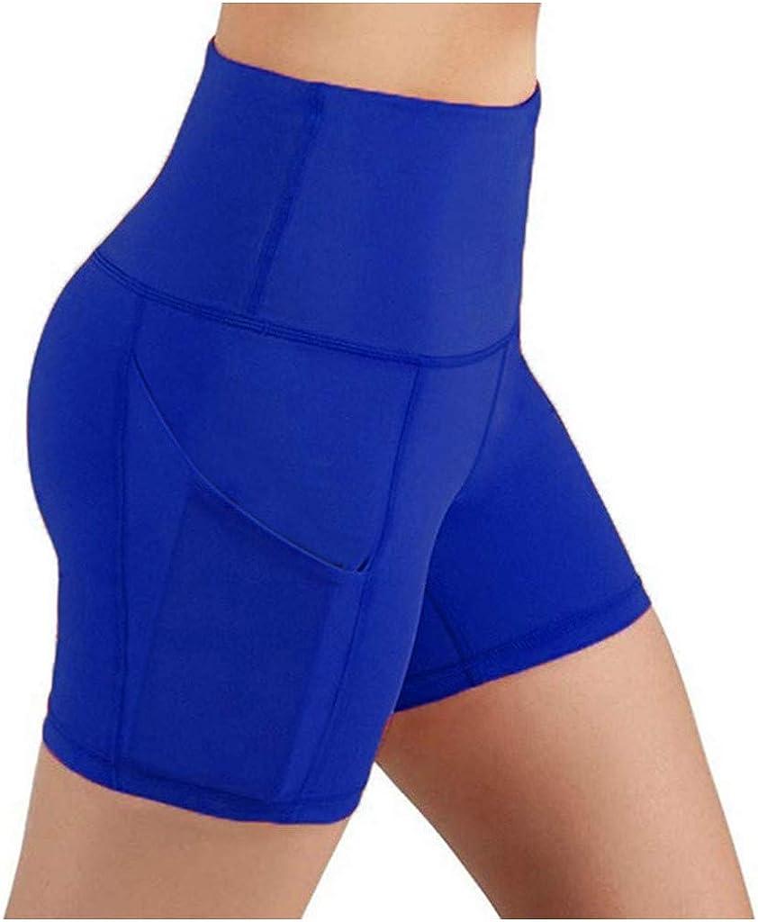 iLUGU Lady Solid Pocket Attention brand High-Waist Stretch Underpants Hip Max 48% OFF Runnin