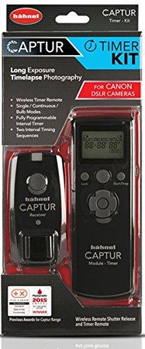 Hähnel HL C CANON TIM Captur Timer Kit (draadloze afstandsbediening en timer activering, geschikt voor Canon) zwart