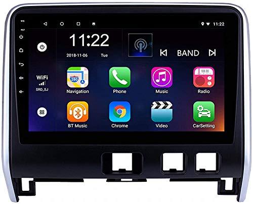 GPS Navigation Head Unit Sat Nav Auto Audio Player MP5 FM Radio Receptor Coche Estéreo De 9 Pulgadas Táctil Android 10.0 Compatible para Nissan Serena 2016-2018,4 Core 4G+WiFi 1+16GB